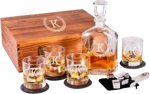 Froolu - Personalized Decanter Set