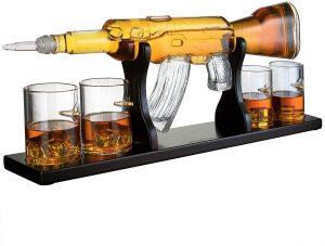 Wine Savant - Rifle Gun Decanter Set
