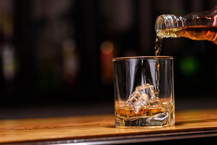 Pouring Whiskey Properly