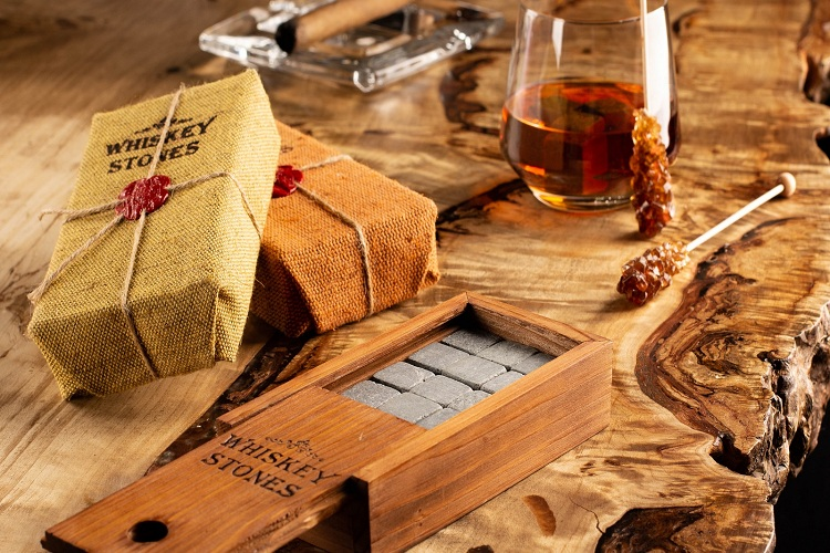 Whiskey Stones Maintain a Constant Temperature Longer Than Ice