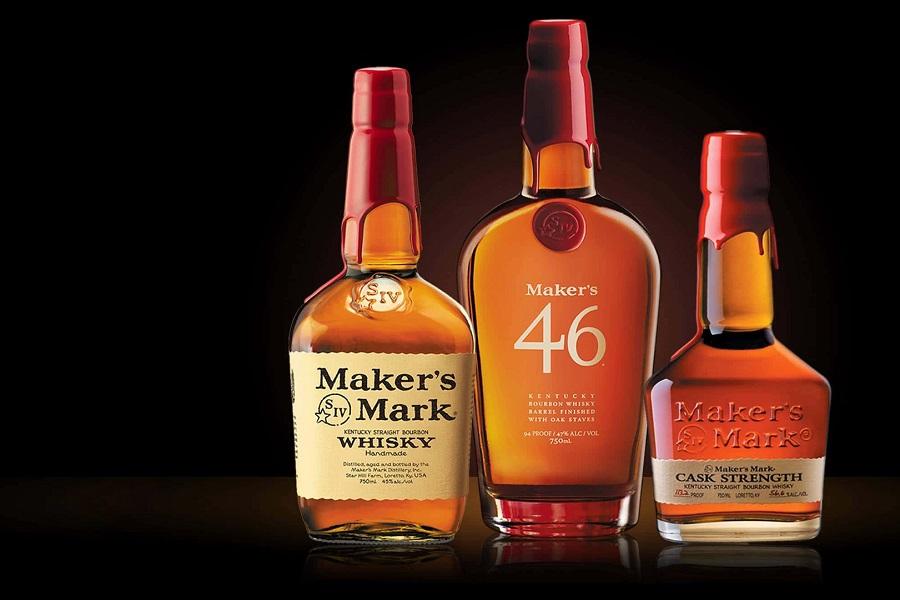 Makers Mark Bottles