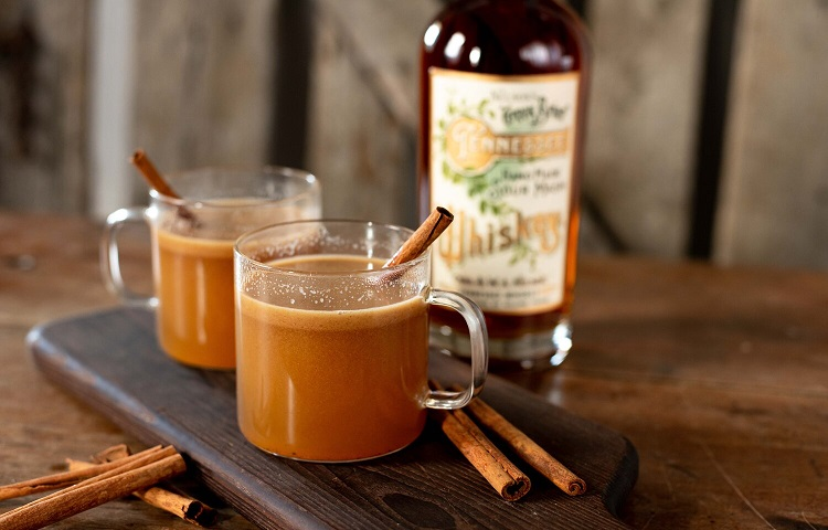 traditional hot buttered scotch